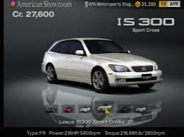 lexus sportcross forum lexus is 300 sport cross u002701 gran turismo wiki fandom powered