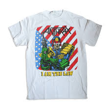 I Am The Flag Anthrax I Am The Law Vintage Anthrax T Shirt
