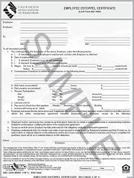employment certificate with salary eec 11 employee estoppel certificate single realty supply center