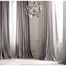 Light Grey Drapes Decorate Your Home With Silver Curtains Darbylanefurniture Com