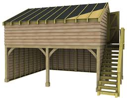 Room Above Garage by Garages With Room Above Traditional Timber Frame Oak Douglas Fir