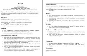 Philippine Resume Format Sample Resume Format For Fresh Graduates Philippines Resumedoc
