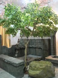 factory price sale fiberglass small banyan tree artificial