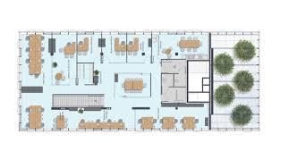 plan des bureaux l orangerie et les bureaux des loges fontanel immobilier