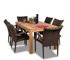 Teak Patio Furniture Covers - furniture dining table set outdoor teak patio furniture great