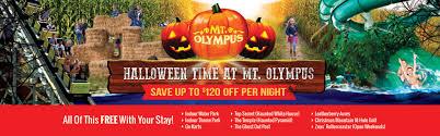 halloween time at mt olympus mt olympus