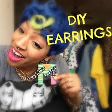 Personalized Name Earrings Diy Personalized Name Earrings Youtube