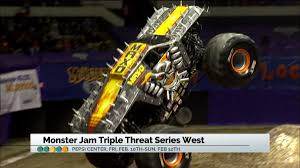 monster truck crashes video check out this weekend u0027s thrilling monster jam show fox31 denver
