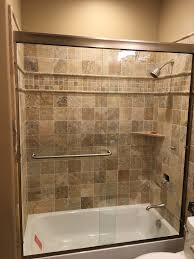 Clear Glass Shower Door by Custom Shower Doors J N Mirror And Glass Co