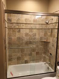 custom shower doors j n mirror and glass co