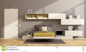 chambre à coucher ado garçon cuisine chambre ã coucher moderne d adolescent illustration