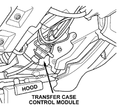 1998 dodge dakota transfer solved where is the transfer module located fixya