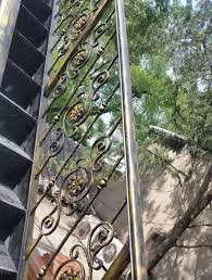Decorative Iron Railing Panels High Quality Used Chain Link Fence Wrought Iron Stair Railing