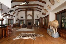 unique 30 big game trophy room ideas design decoration of these