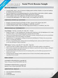 social work resume sample u0026 writing tips resume companion