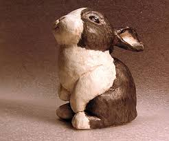 paper mache bunny paper mache rabbit ii ultimate paper mache