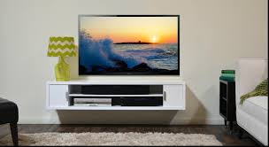 wall mount tv console entertainment center including great room