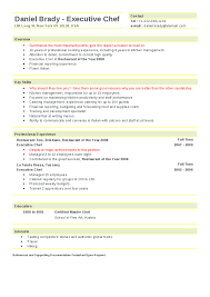 executive chef resume sles 28 images sle objectives for resume