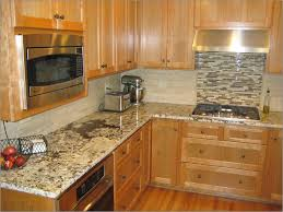 Baltic Brown Granite Countertops With Light Tan Backsplash by Tile Backsplash With Granite Countertops