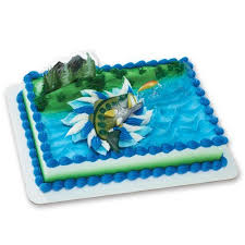 fisherman cake topper fishing cake topper for birthday