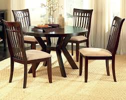 round dining room table sets the style of home interior