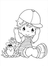 baby boy coloring pages cecilymae