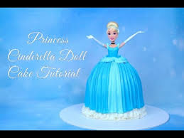 cinderella cake how to make a disney princess doll cake