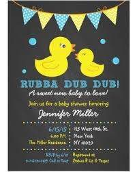 duck baby shower invitations chalkboard baby shower invitations baby showers ideas