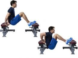 Triceps Bench Dips Joe Manganiello U0027s Workout Men U0027s Health