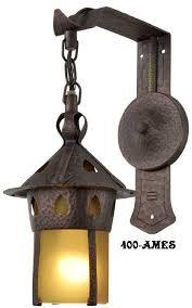 Craftsman Sconce Vintage Hardware U0026 Lighting Arts And Crafts Craftsman And