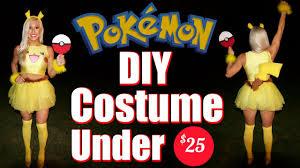 Pikachu Costume Pikachu Women U0027s Diy Costume For Under 25 Youtube