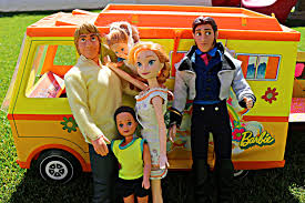film elsa menikah frozen anna goes cing with hans in a barbie rv youtube