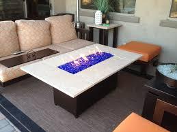 build a propane fire table custom fire pit tables az backyard custom