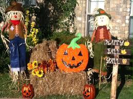 Outdoor Fall Decor Pinterest - front doors door design add several pumpkins lanterns cornstalks