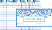 check registries checkbook registers only 2 50 each checks unlimited