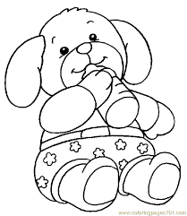 teddy bear coloring page 001 5 coloring page free others
