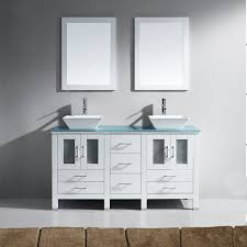 Bathroom Vanities Maryland Virtu Usa Md 4305 G Wh 001 Bradford 60 In Bathroom Vanity Set