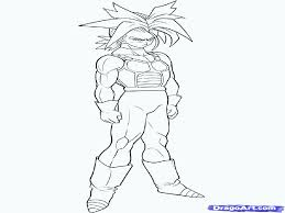 free dragon ball z coloring pages of goku ss4 kamehameha best