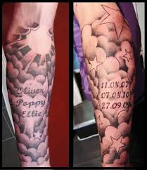 49 best clouds and stars tattoo on inside arm designs images on