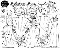 beauty pony paper doll coloring page with coloring pages paper