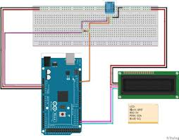 arduino temp humidity sensor using dht11 and i2c lcd one day