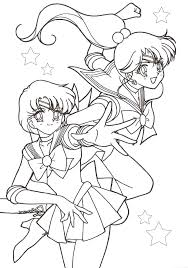 faces sailor moon coloring pages sailor moon coloring