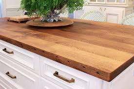 reclaimed kitchen island reclaimed wood countertops reclaimed oak kitchen island order a free