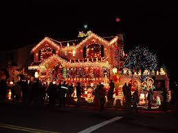 Christmas Decorated Houses Christmas Decorated House Whitestone Ny Whitestone Resident Wins