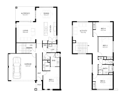 2 Storey House Plans 3 Bedrooms Trend Decoration Two Storey House Designs For Small Modern And 7