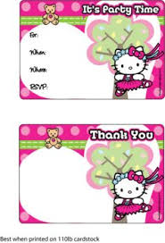 200 best hello kitty birthday printables images on pinterest