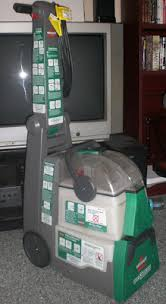 Bissell Rug Cleaner Rental Renting A Bissell Big Green Carpet Cleaning Machine Review Of