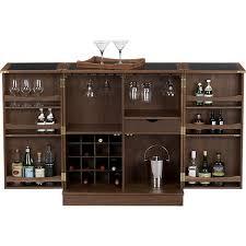 crate and barrel bar cabinet maxine bar cabinet crates barrels and bar carts