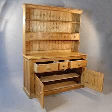antique victorian pine dresser welsh country kitchen display