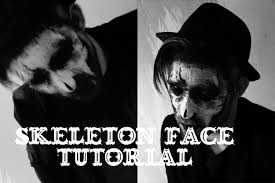 Halloween Face Paint Skeleton by Groom Him Skeleton Face Paint Halloween Tutorial Youtube